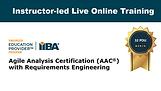 Instructor-led Live Online Training,  32 PD Hours