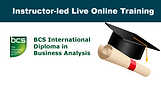 Bundled programme of four courses required for BCS International Diploma in Businenss Analysis.