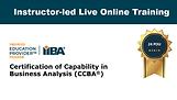 Instructor-led Live Online Training,  24 PD Hours
