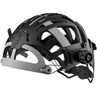 optrel IsoFit® headgear ( Kopfband schwarz, schwarze Knöpfe)