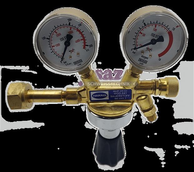 Druckminderer Sauerstoff/O2 200 bar Harris Modell 841