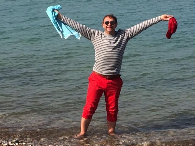 Jon op Sicilië februari 2014