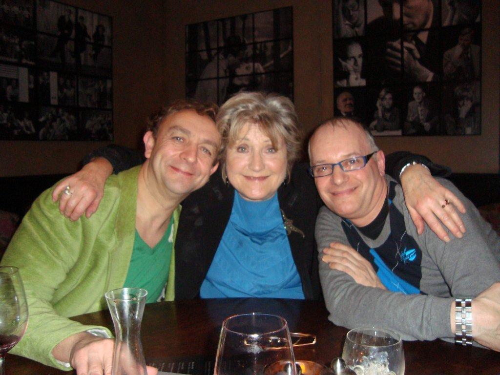 Met Jasperina de Jong en Arie Cupé
