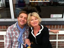 Met co-schrijver Martine Bijl