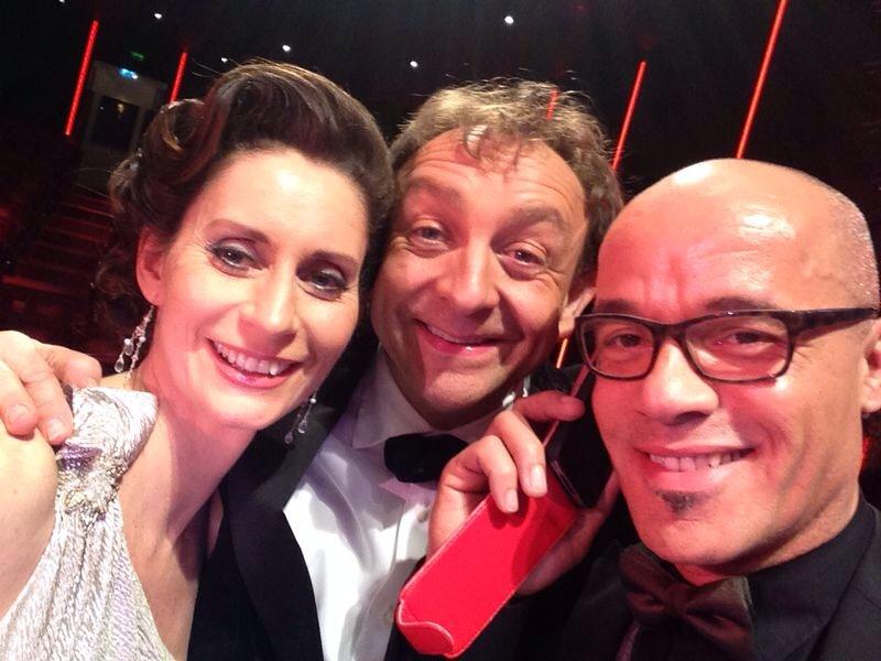 Met Pia Douwes en Stanley Burleson