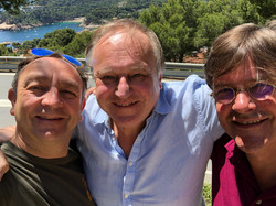 Met Michael Reed en Ton Fiere