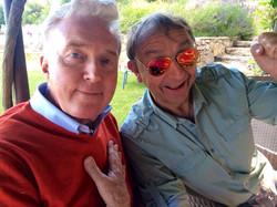Met André van Duin in Zuid-Frankrijk