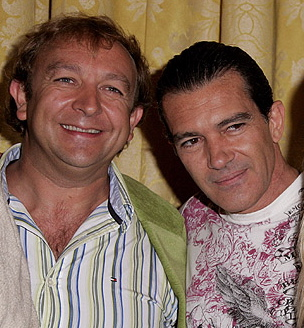 Met Antonio Banderas