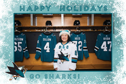Sharks STH Holiday Photos 7-7:30PM