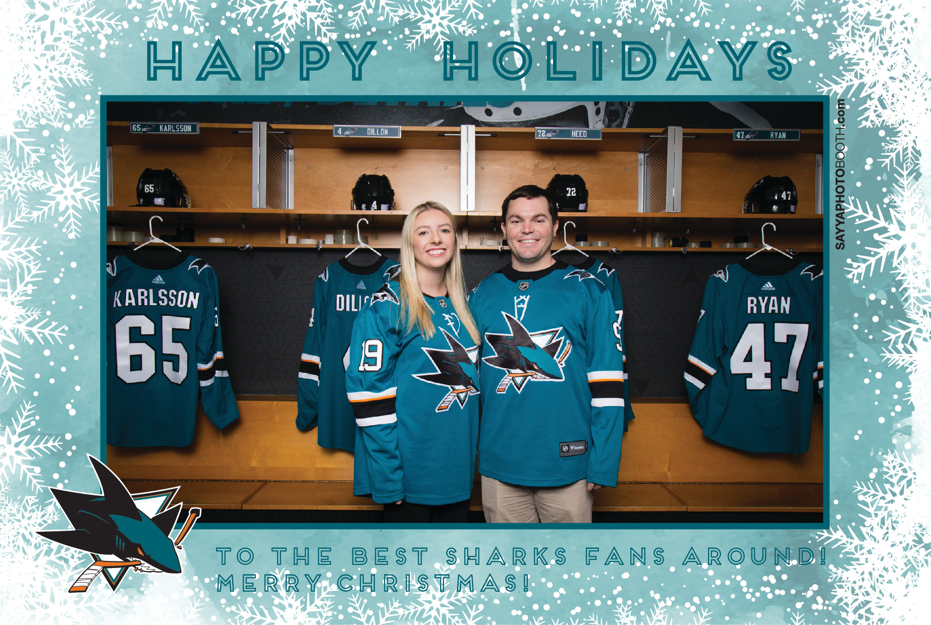 Sharks STH Holiday Photos 4:30-5PM