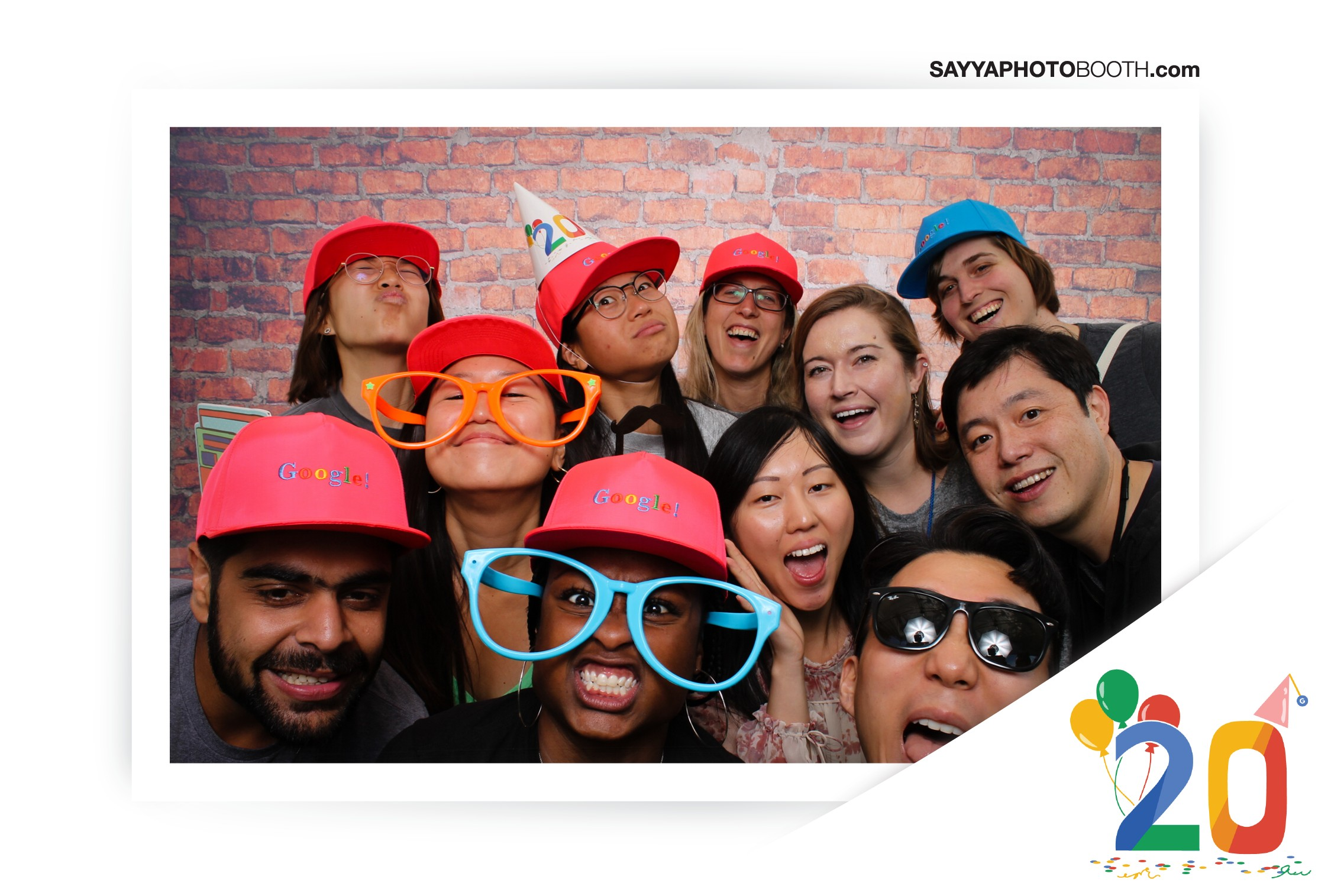 Google's 20th Birthday - Booth 2
