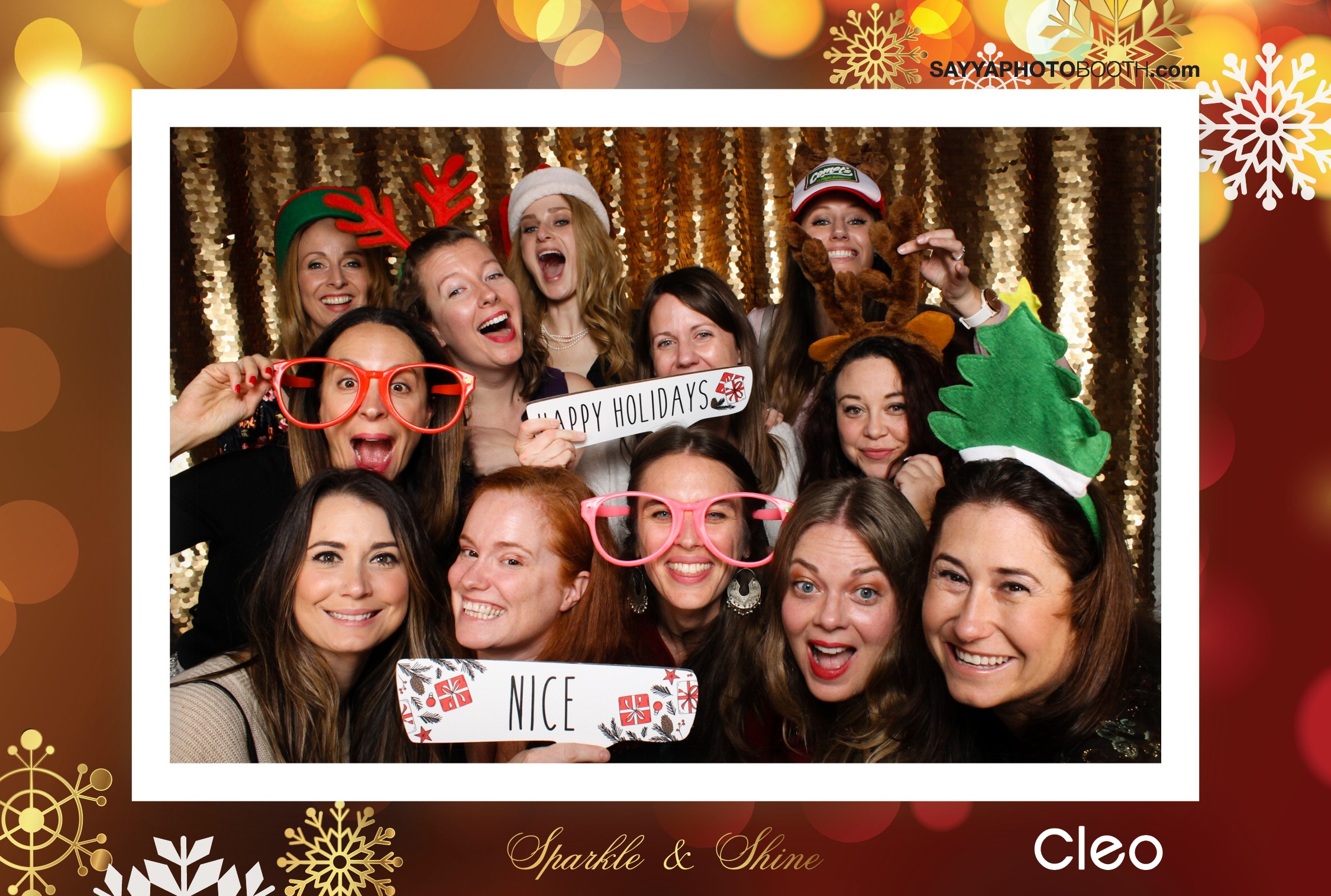 Cleo Holiday Party