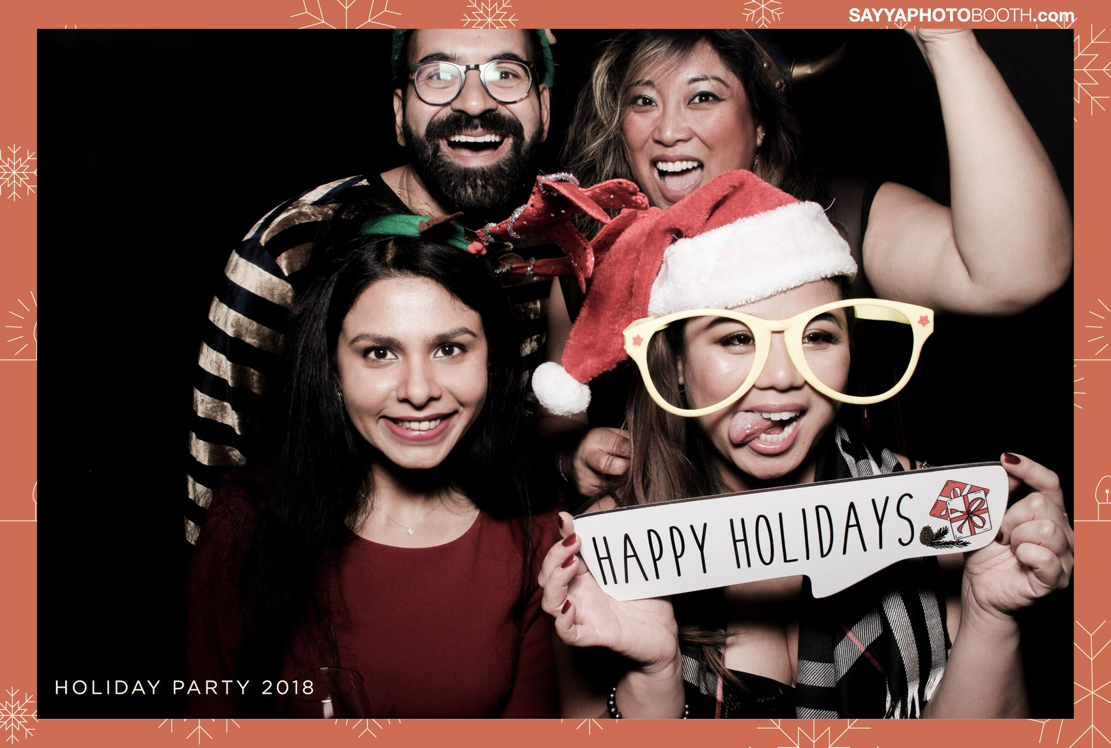 Apple Media Holiday Party - Booth 2