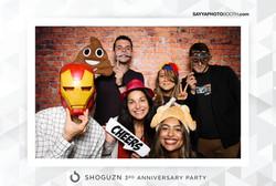 Shogun 3rd Anniversary Party