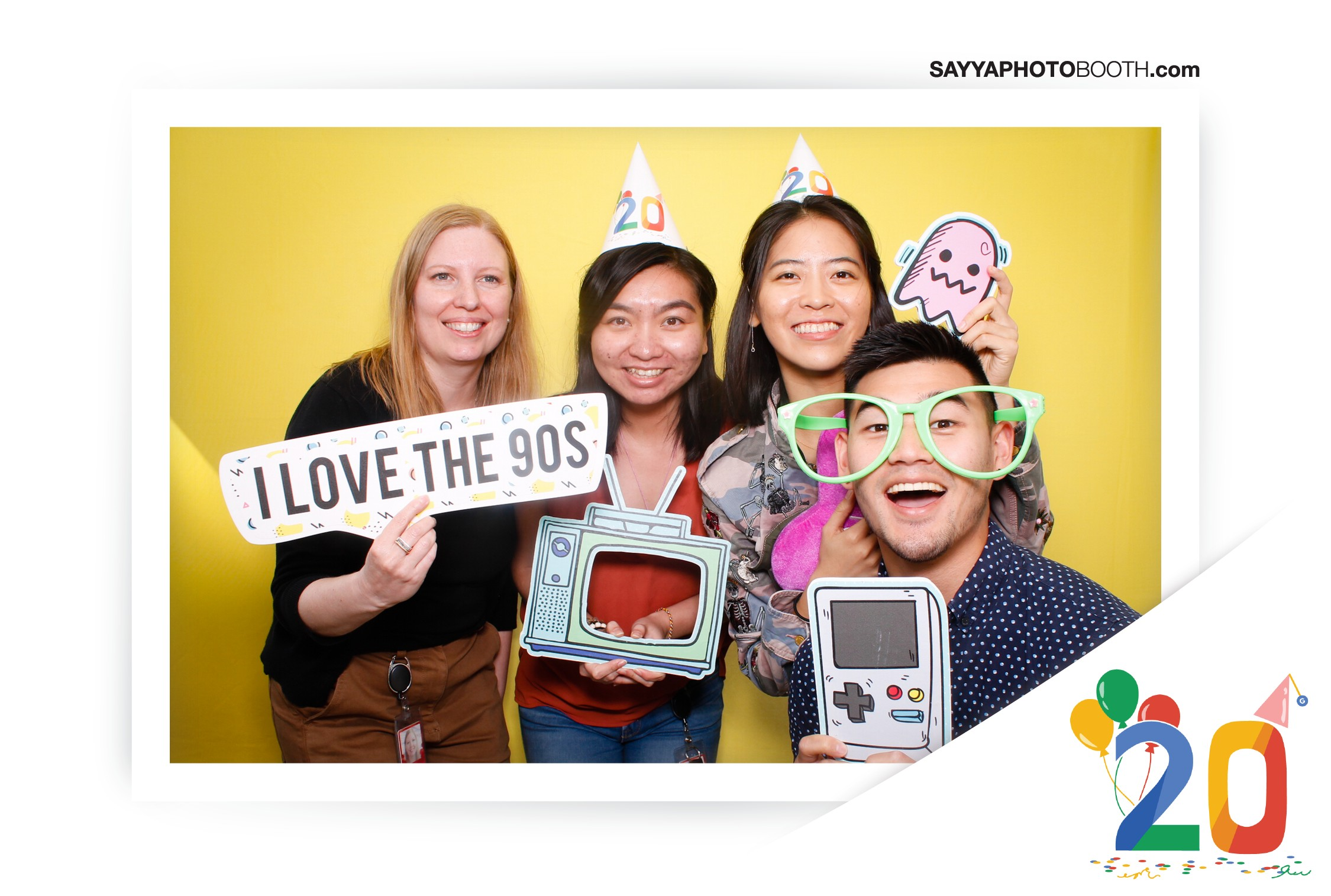 Google's 20th Birthday - Booth 5