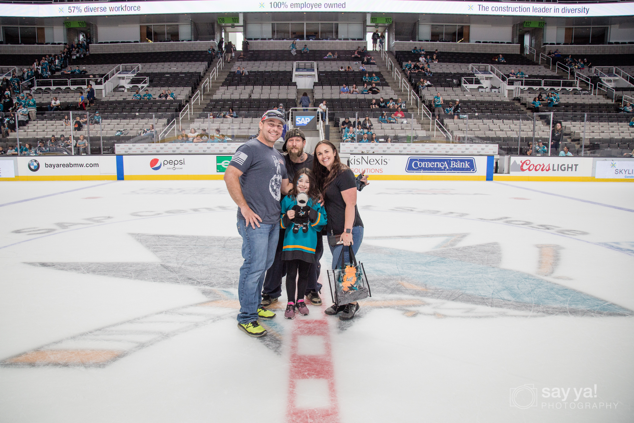SJ Sharks Fanfest - Center Ice