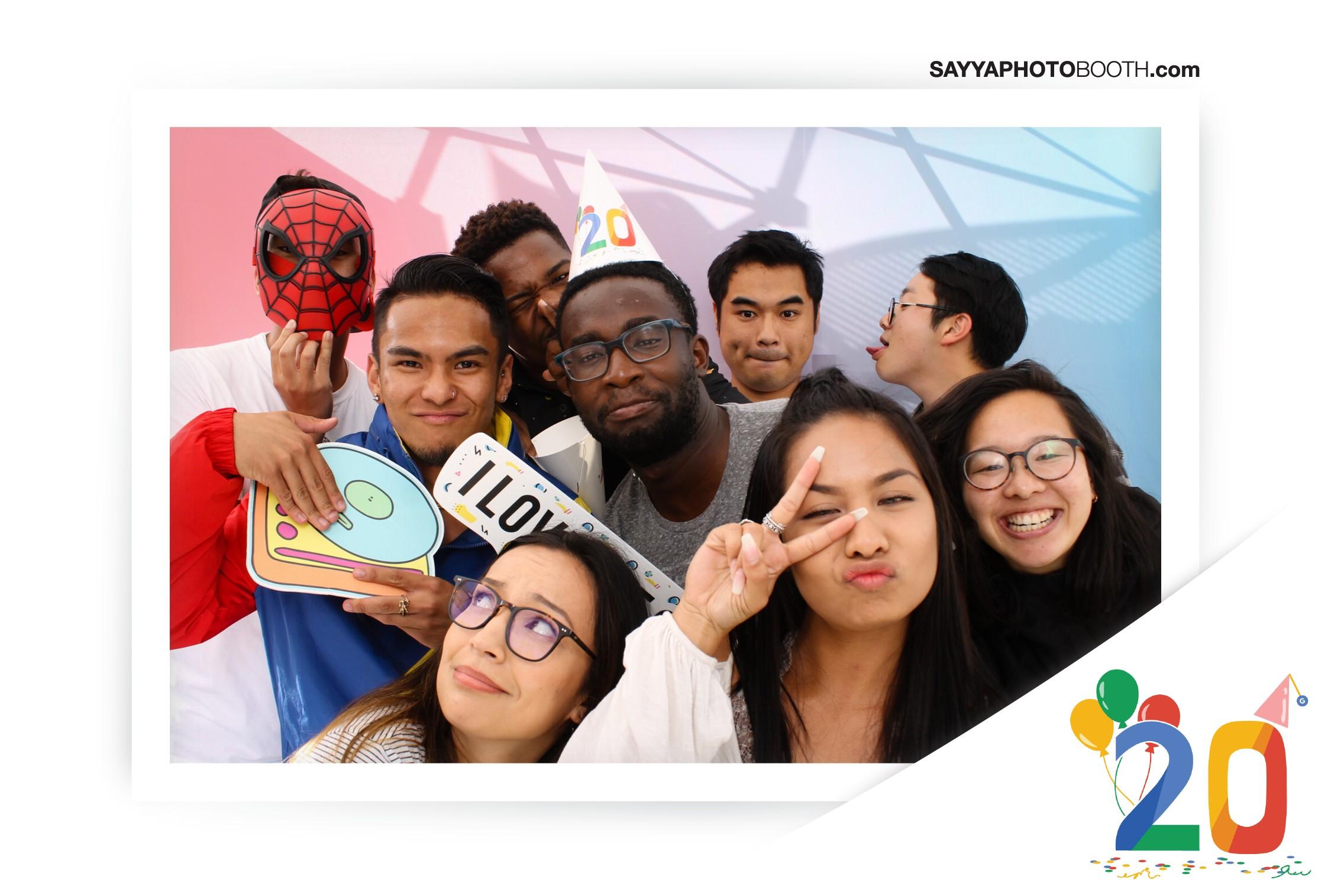 Google's 20th Birthday - Booth 6