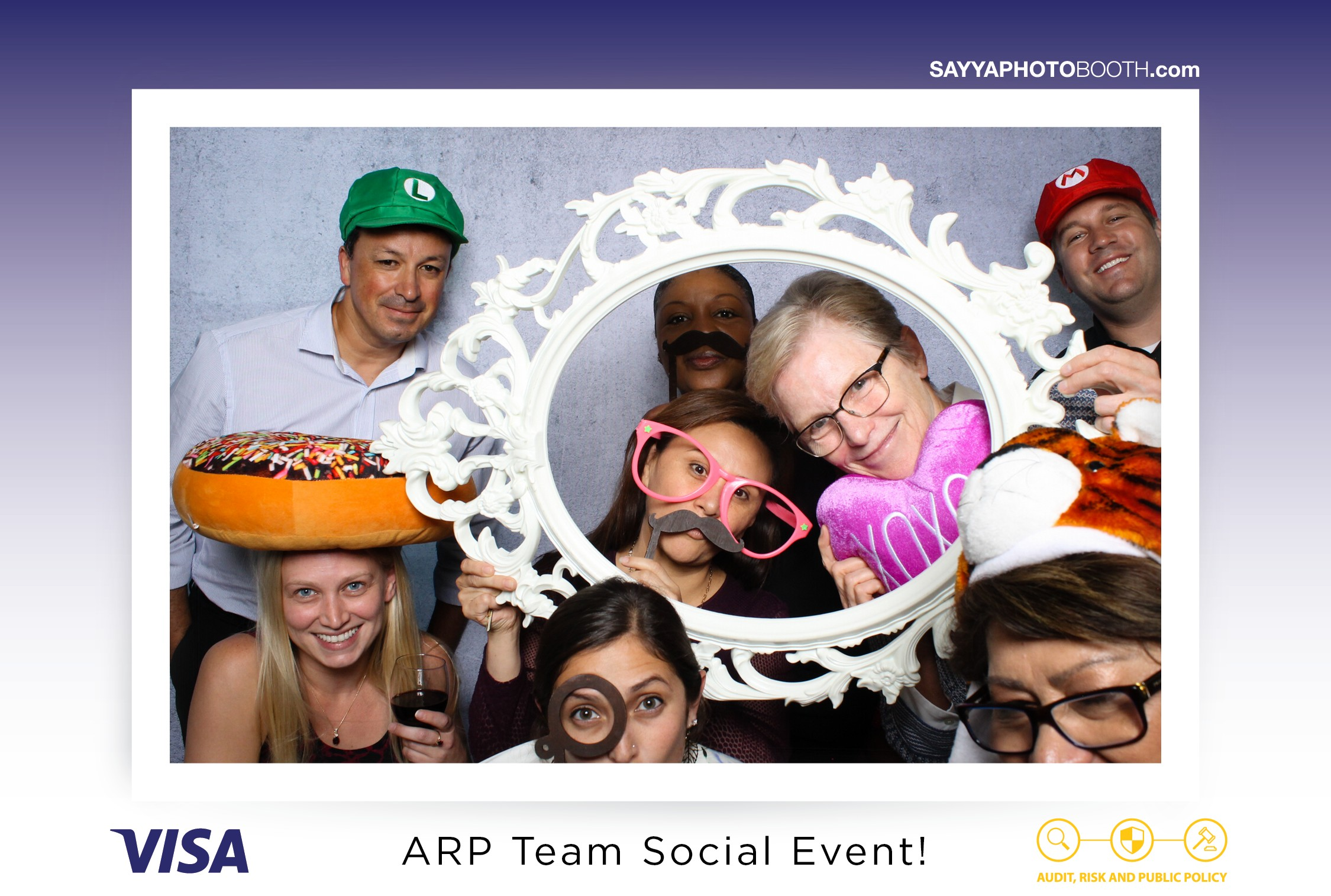 Visa ARP Team Social Event