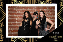 Fitbit Holiday Party 2018 - Booth 1