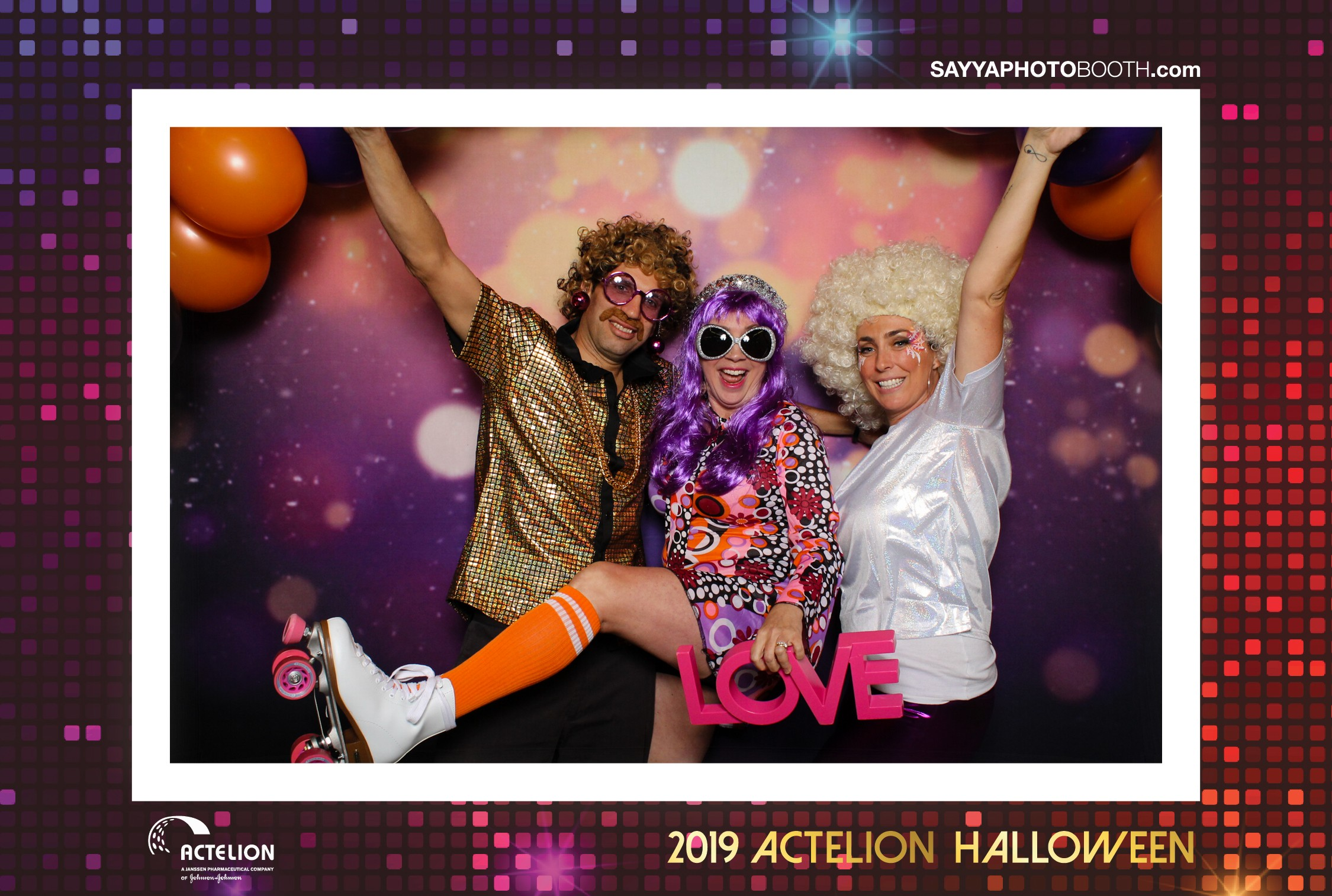 Actelion's Halloween Party