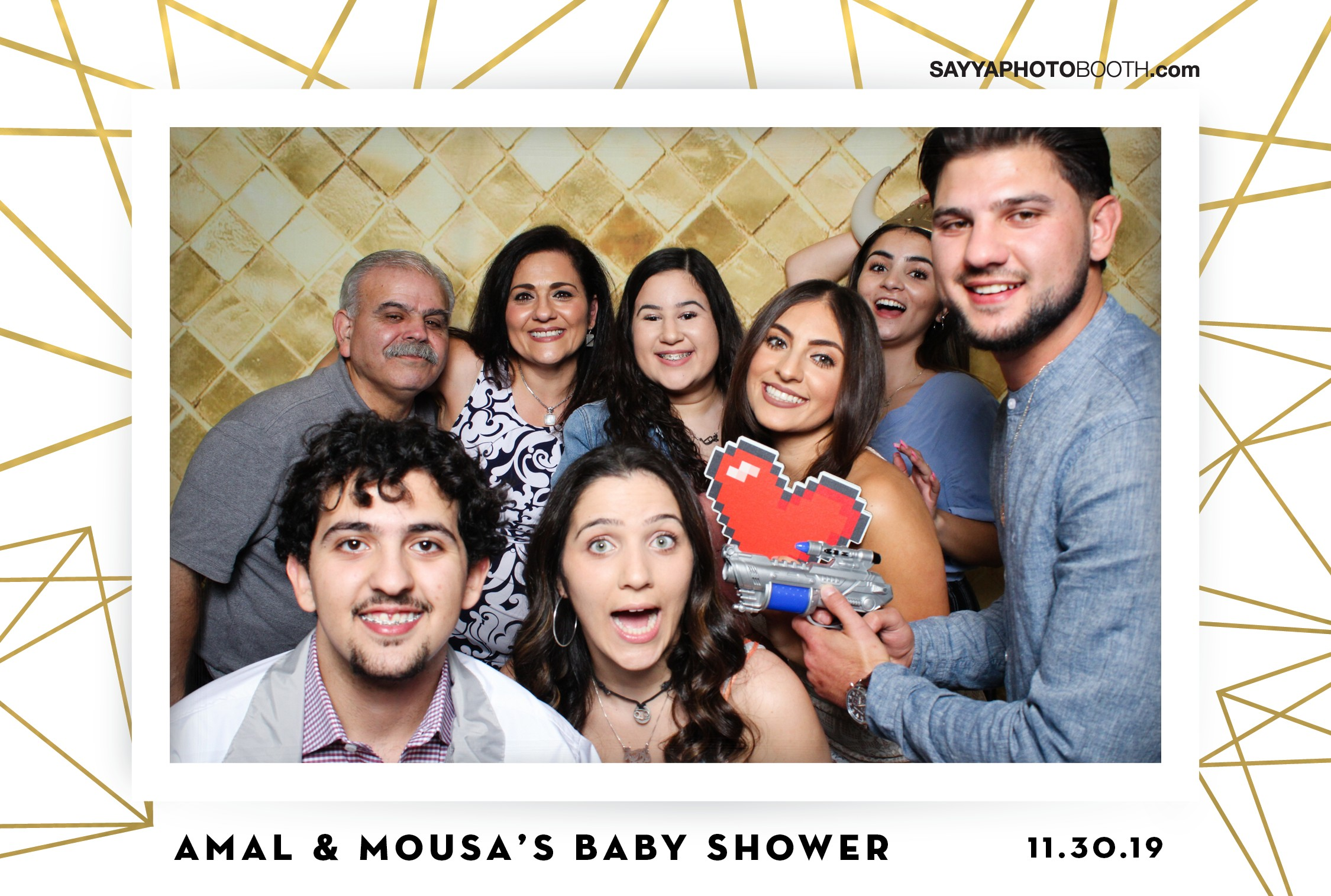 Amal's Baby Shower