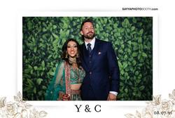 Yamuna and Chris' Wedding