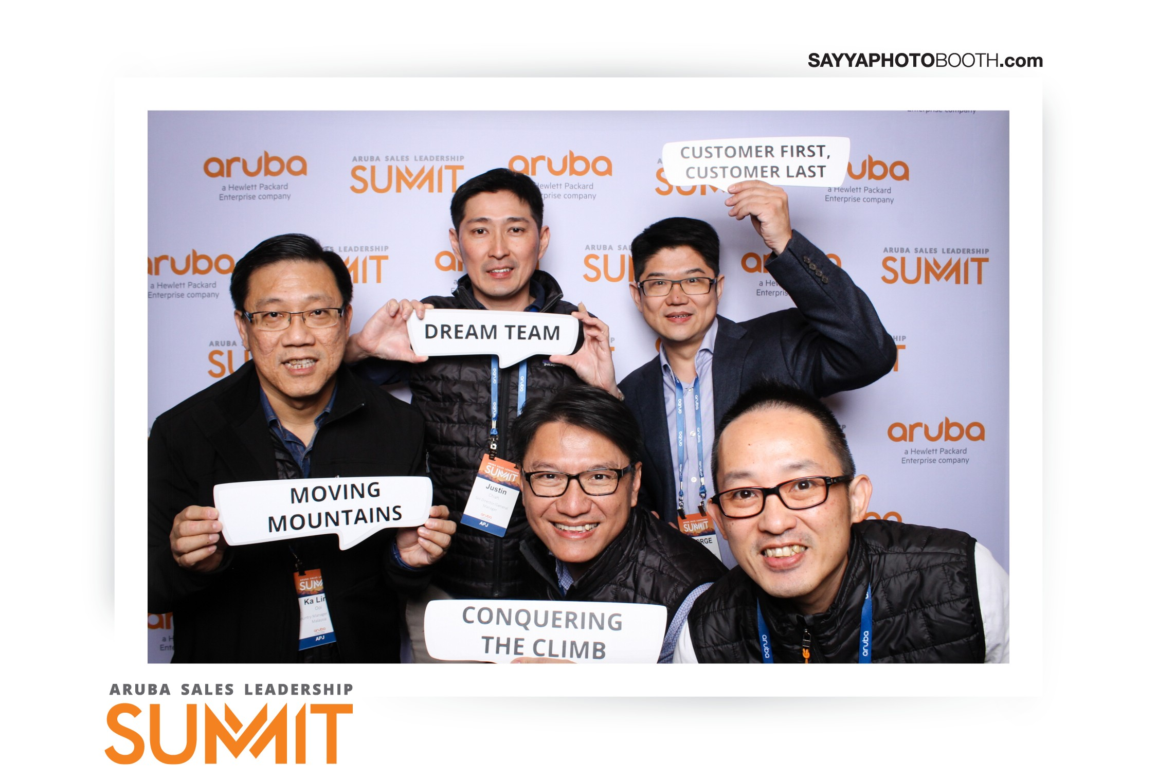 Aruba Networks Sales Leadership