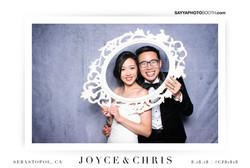 Joyce and Chris' Wedding