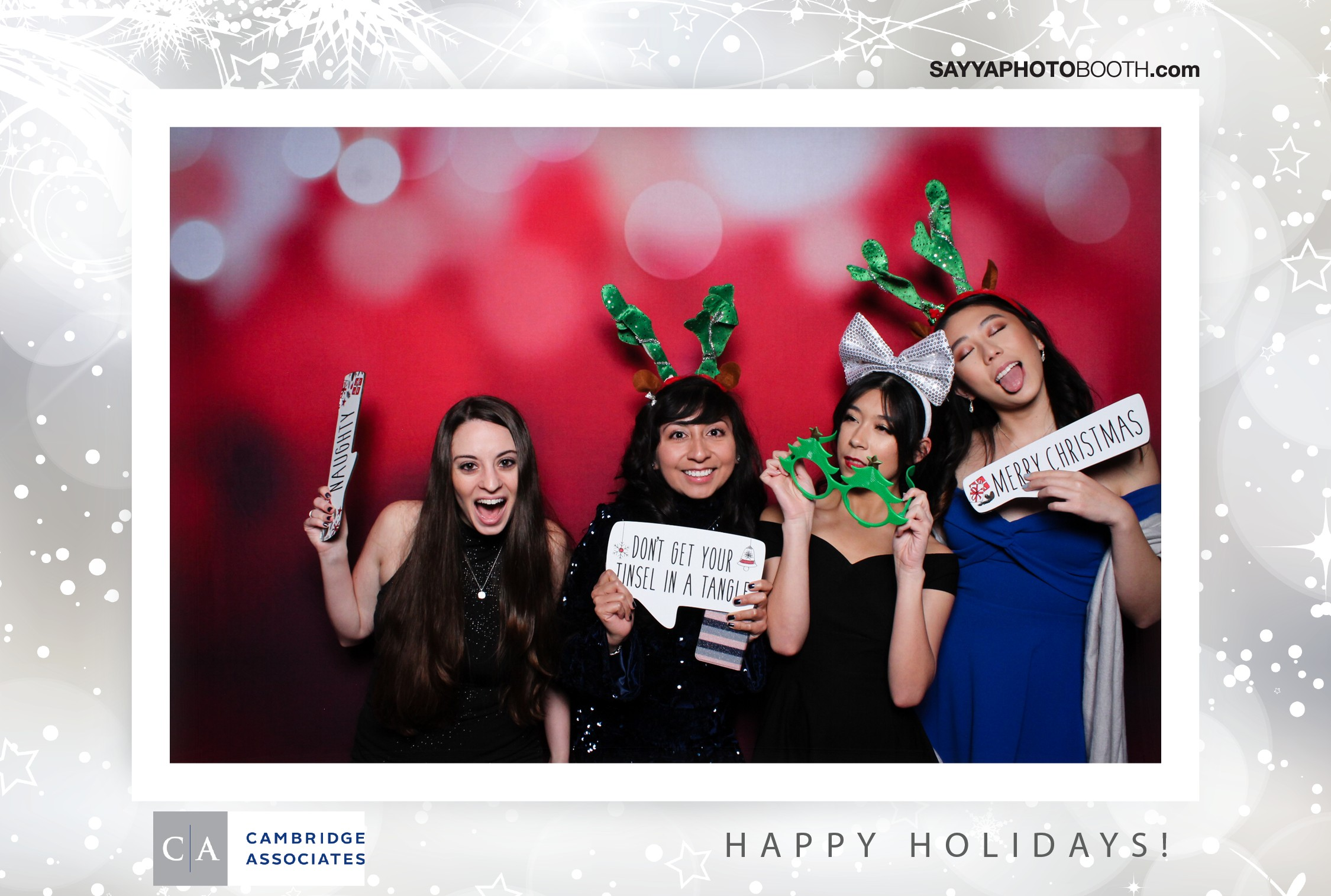 Cambridge Associates Holiday Event