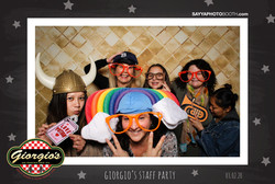 Giorgio's 2020 Staff Party