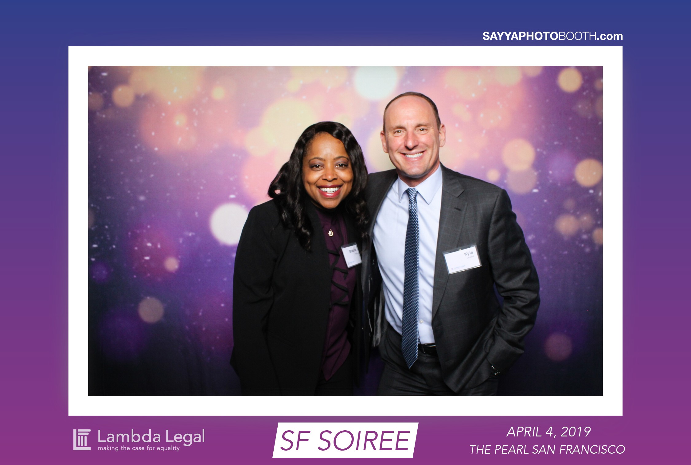 Lambda Legal's SF Soiree
