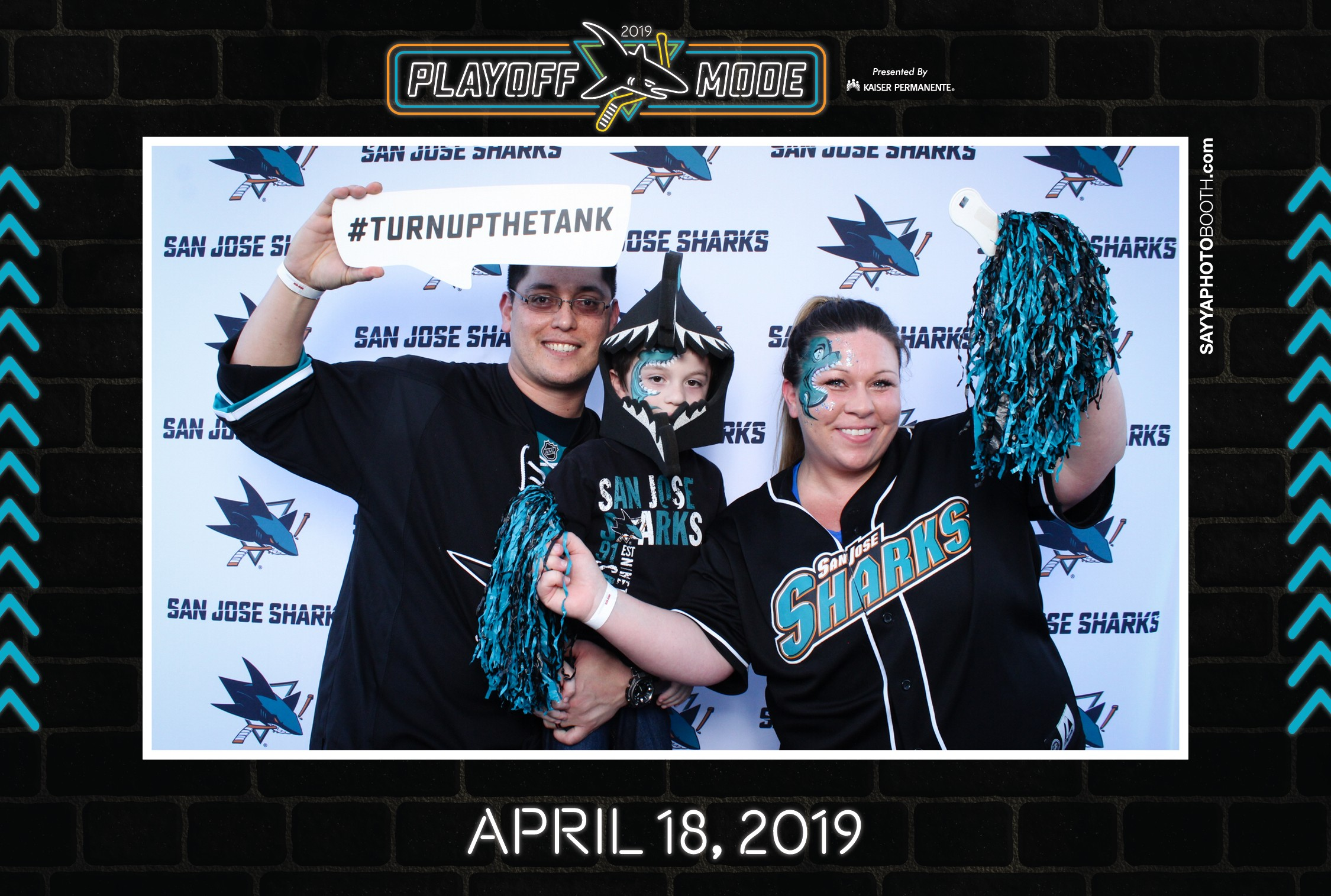 SJ Sharks Playoff Street Rally