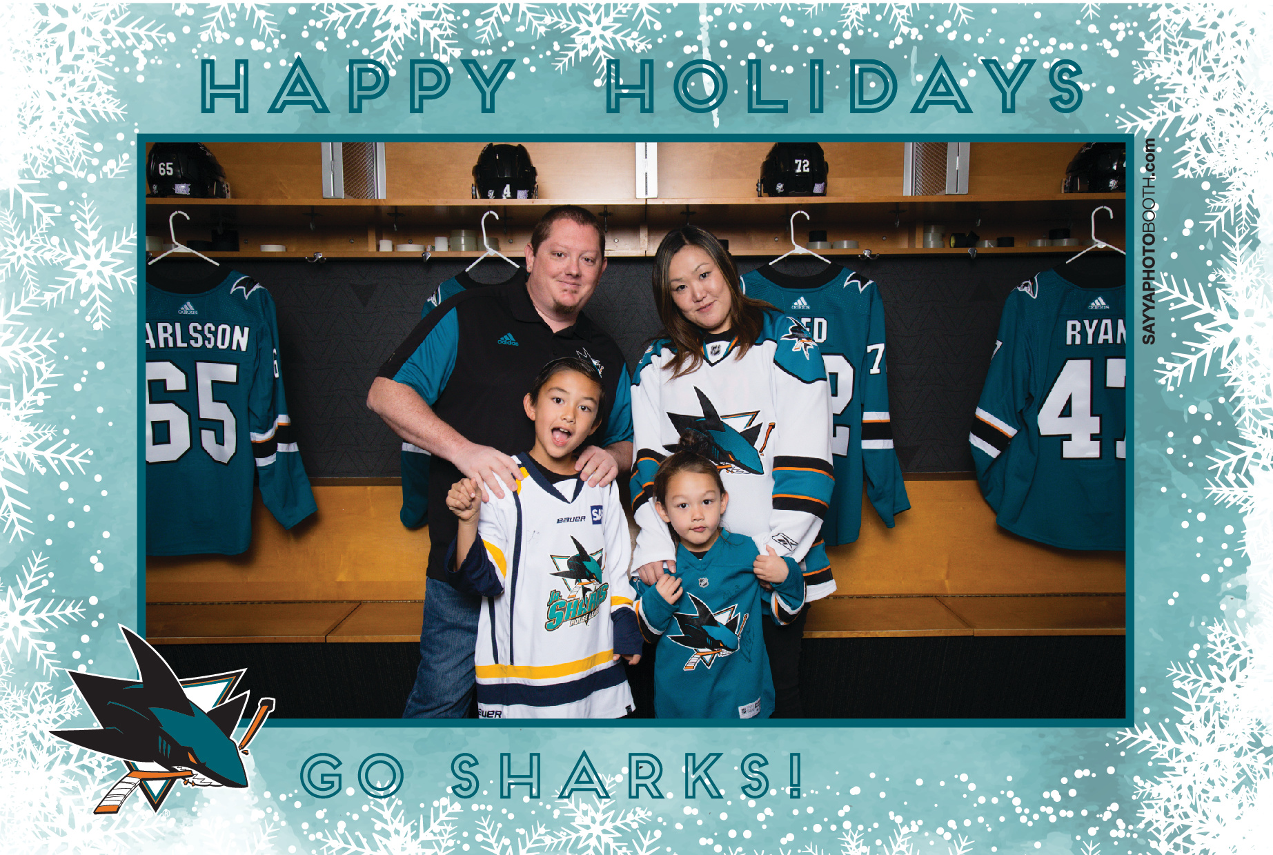 Sharks STH Holiday Photos 6:30-7PM