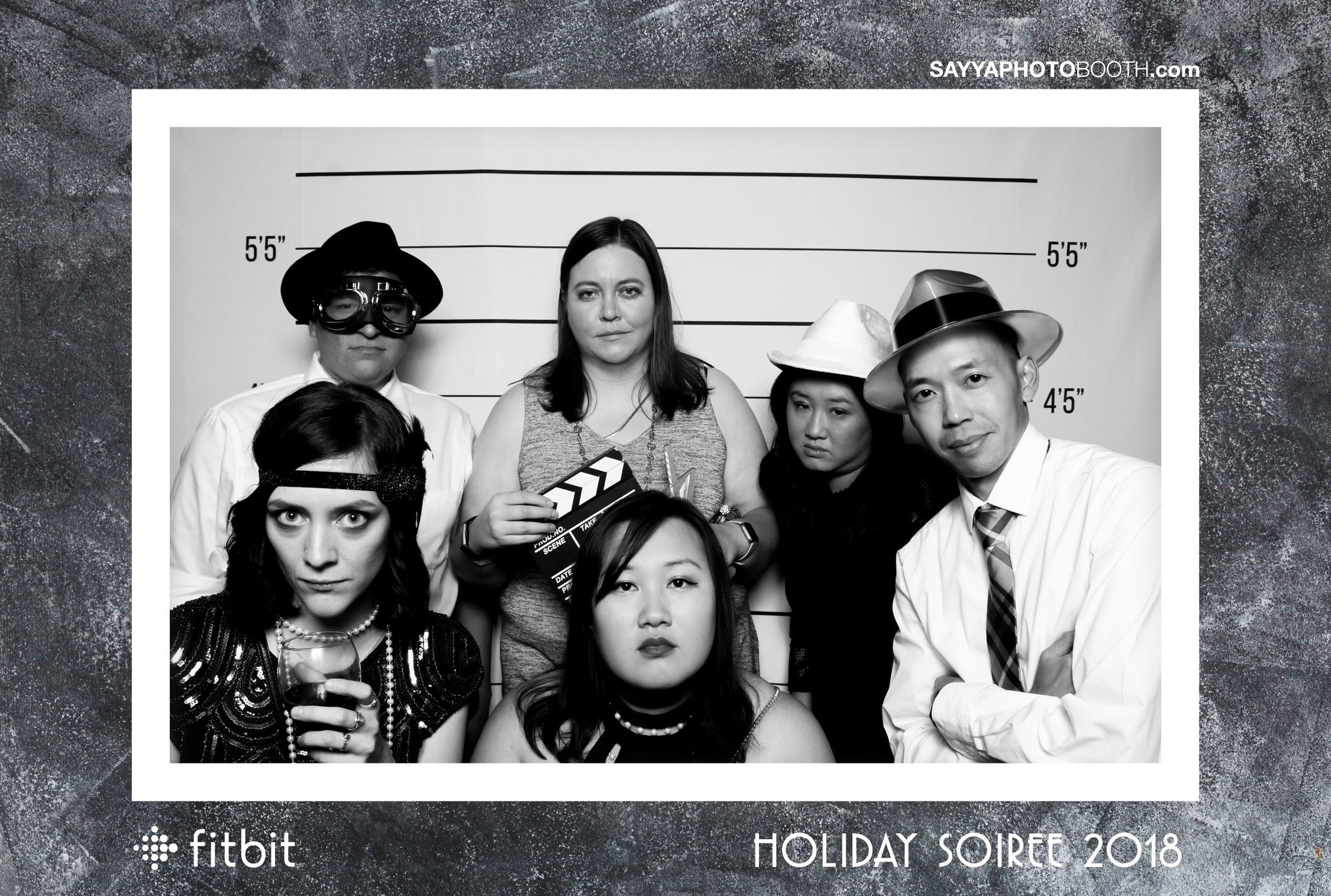 Fitbit Holiday Party 2018 - Booth 2