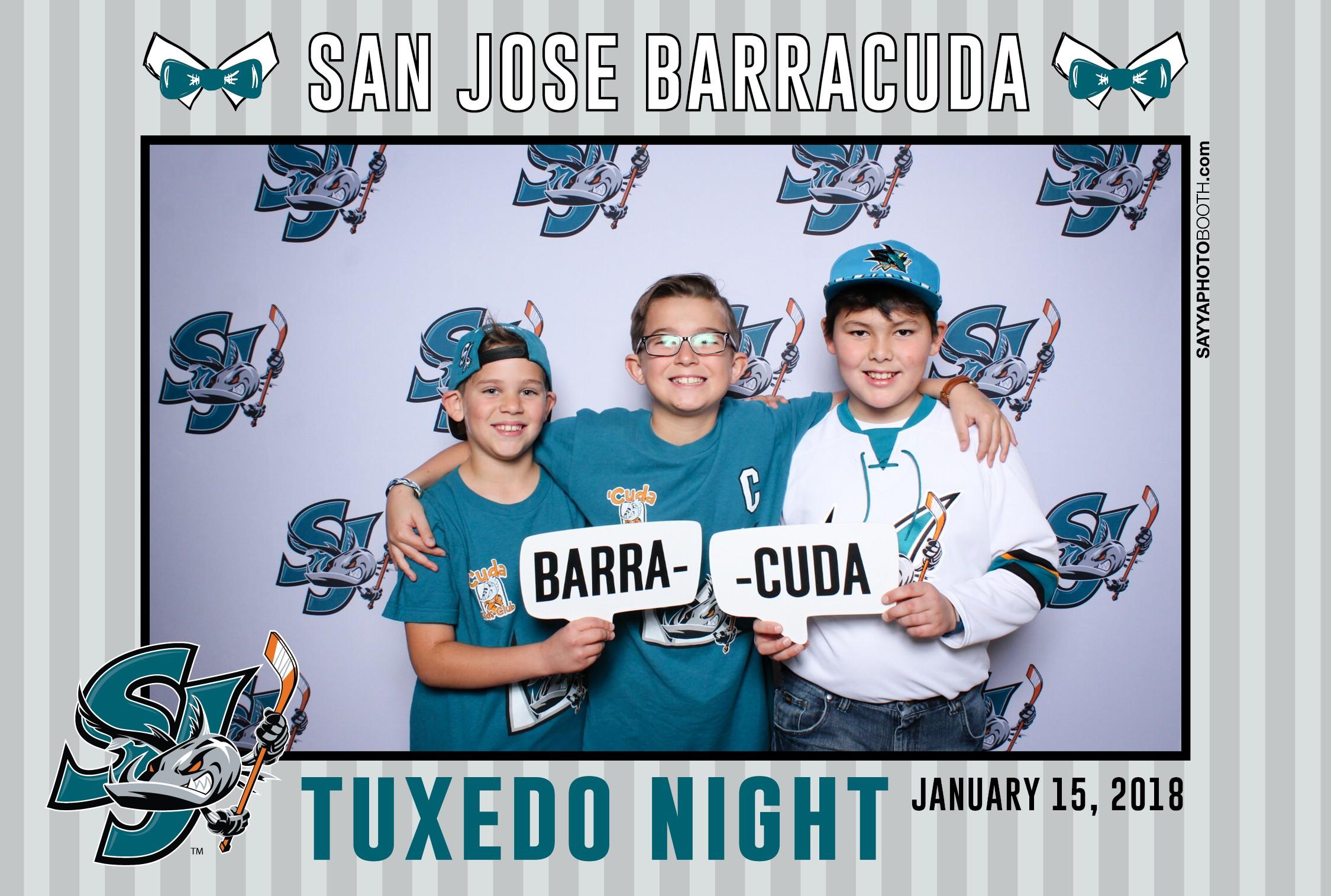 SJ Barracuda Tuxedo Night