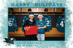 Sharks STH Holiday Photos 8-8:30PM