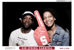 Stanford GSB Spring Carnival Booth 1