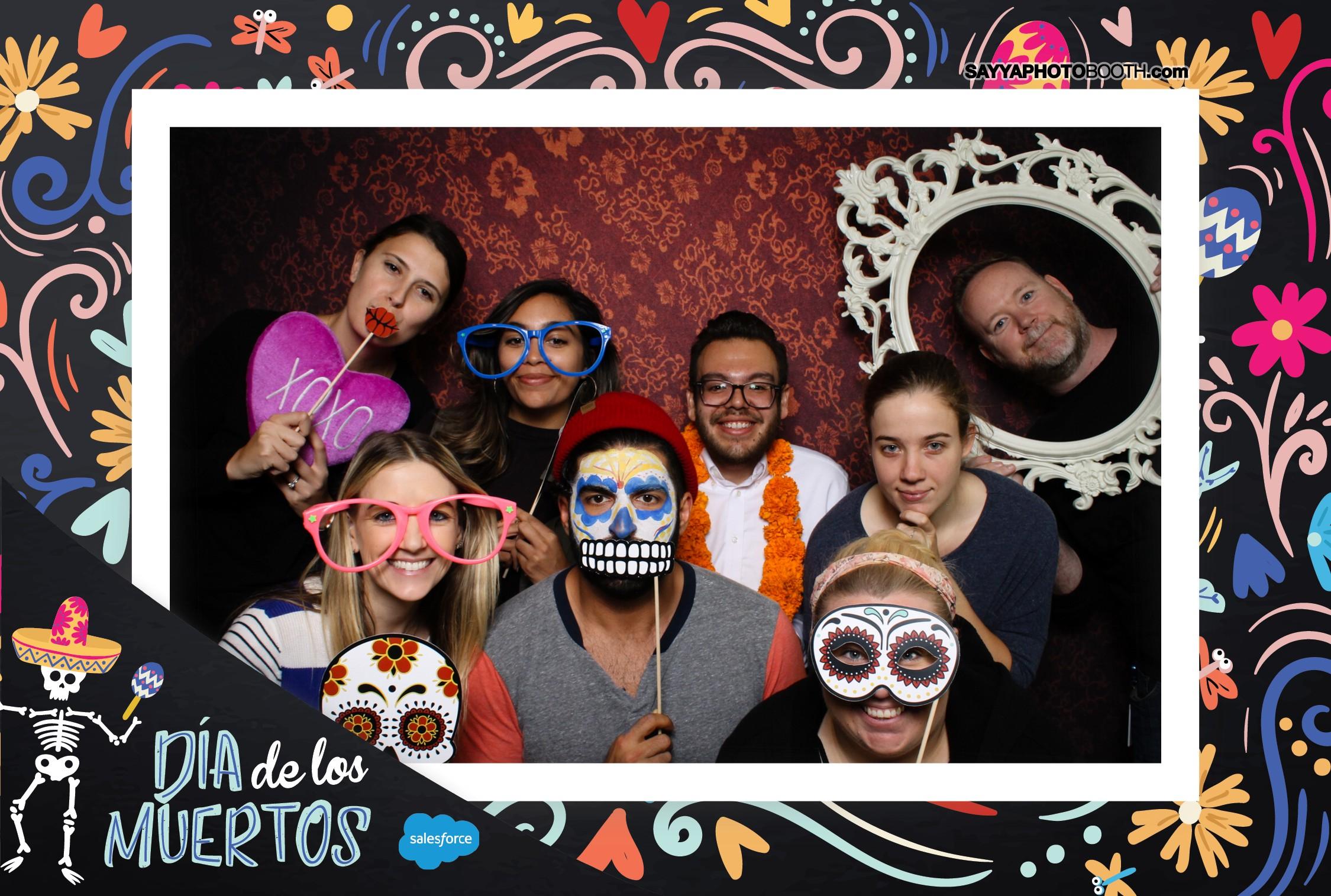 Salesforce Dia de los Muertos