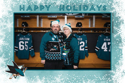 Sharks STH Holiday Photos 5-5:30PM