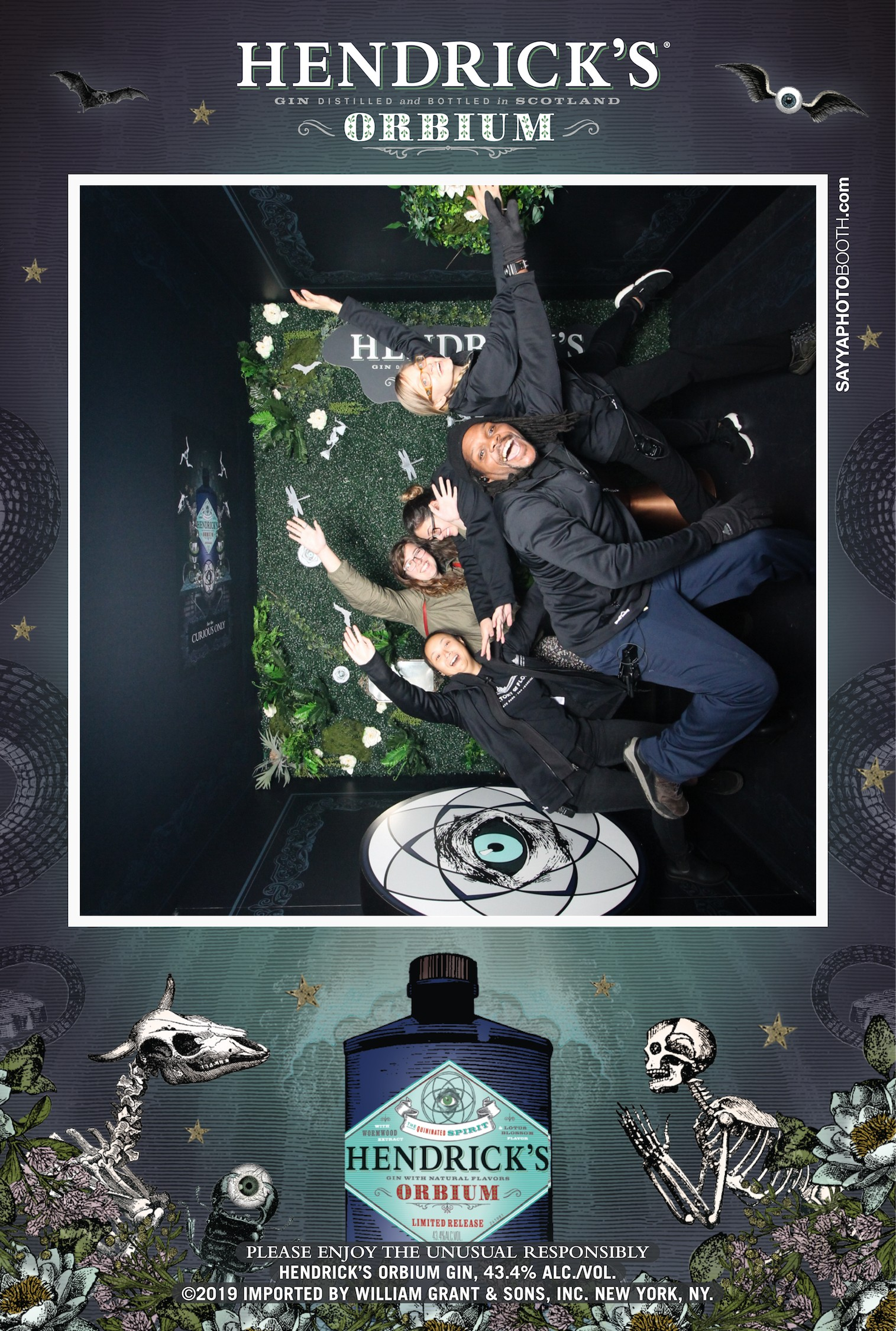 Hendrick's Orbium Launch Event