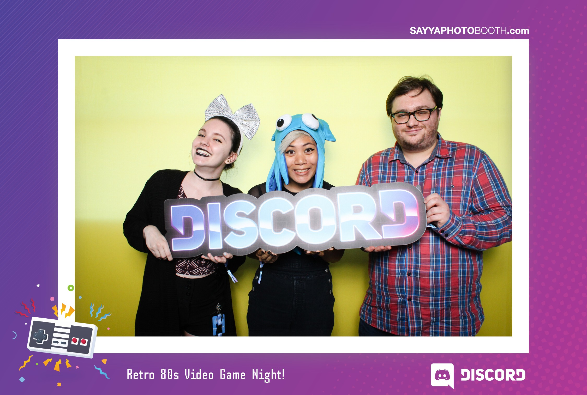 Discord App - 80s Video Game Night