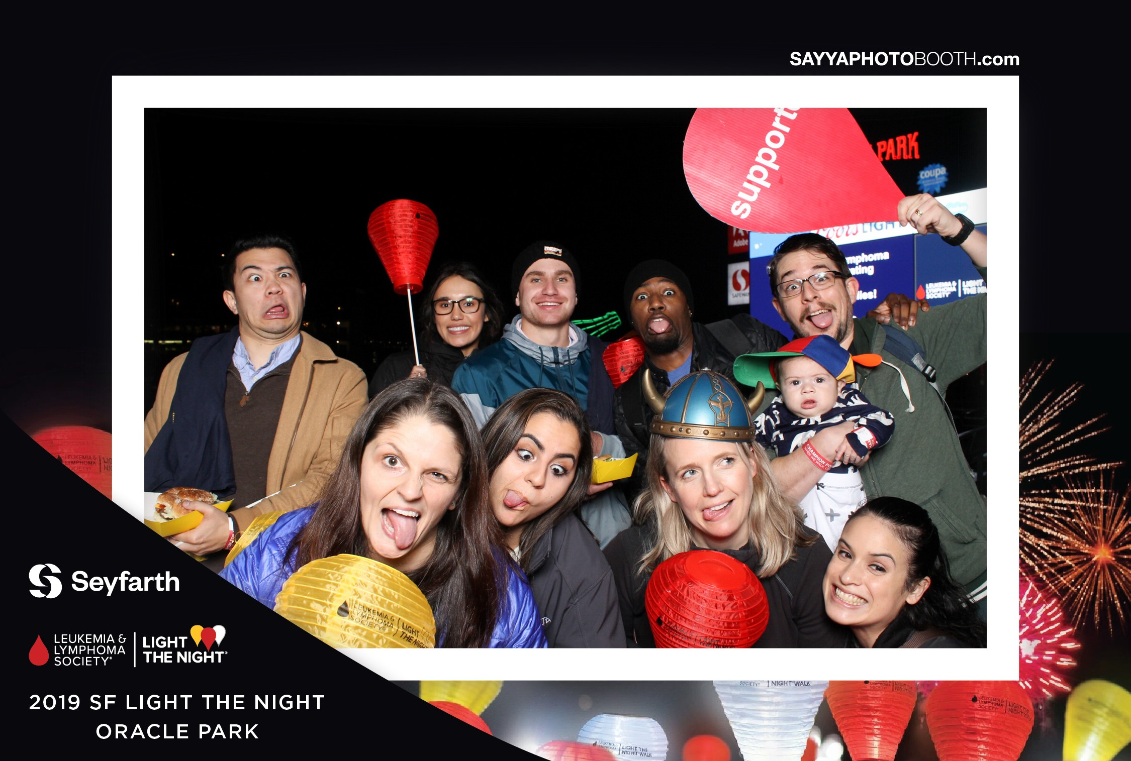 SF Light the Night 2019