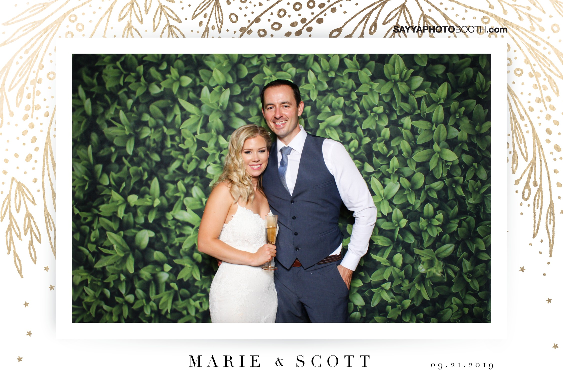 Marie & Scott's Wedding