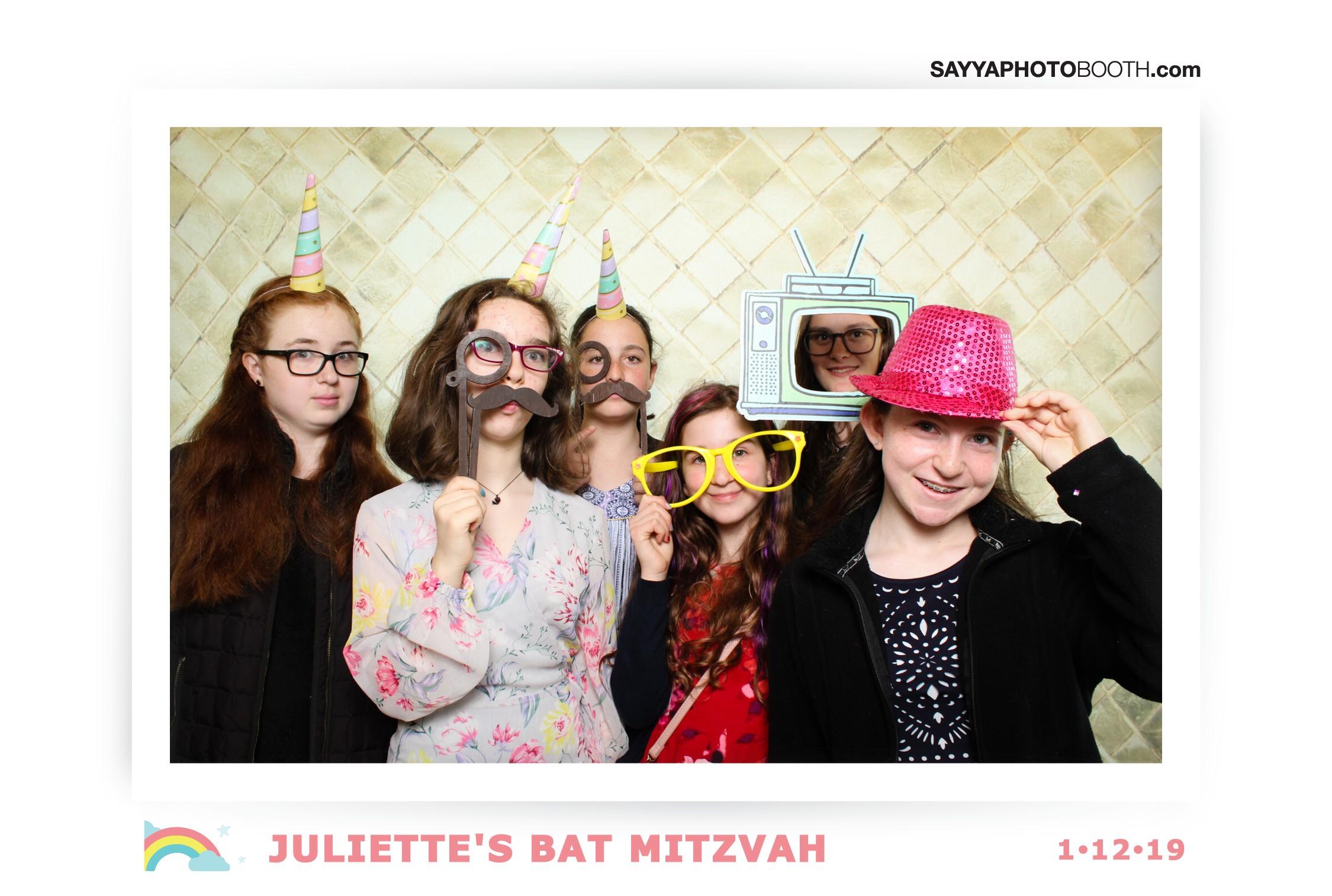 Juliette's Bat Mitzvah