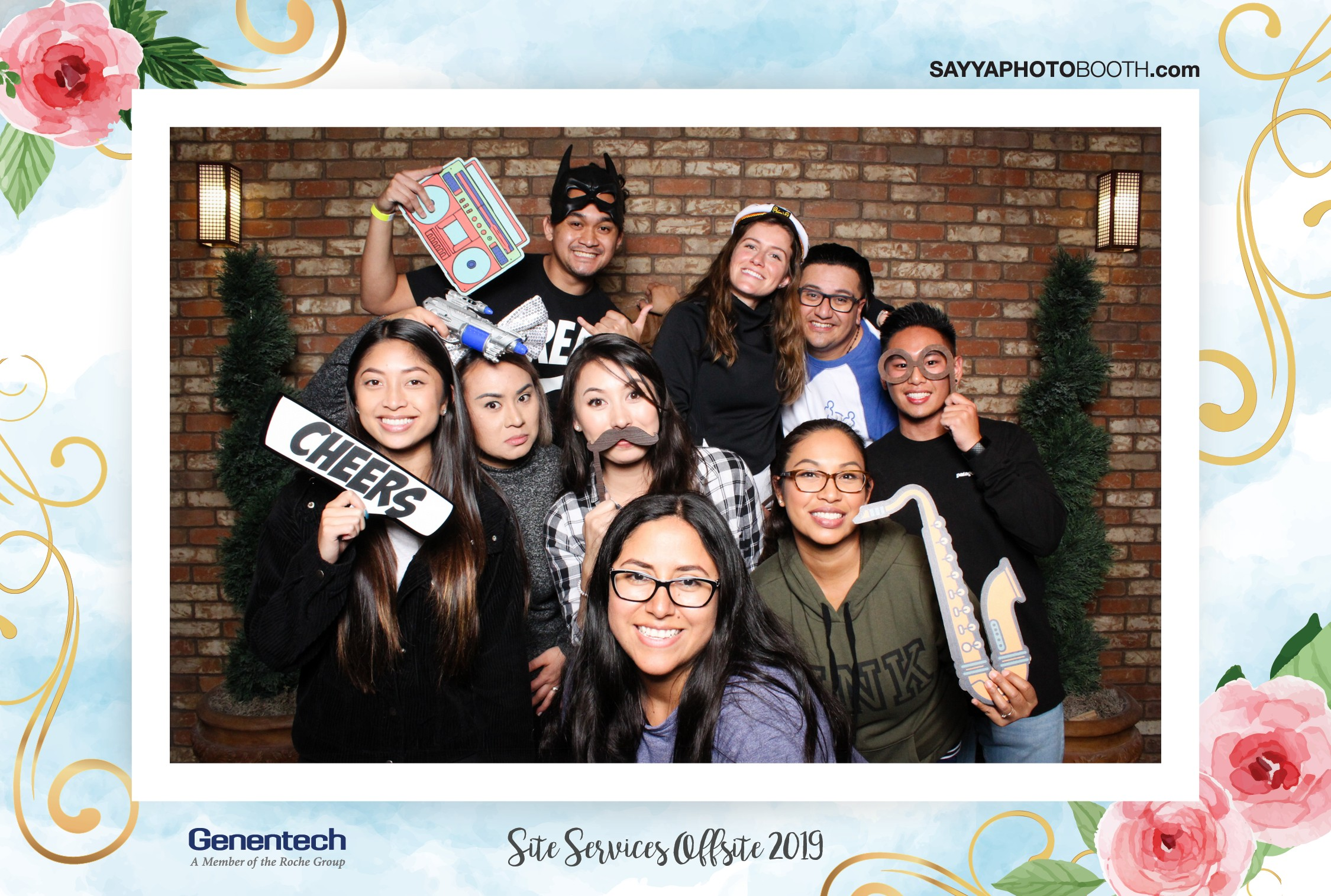 Genentech Site Services Offsite 2019