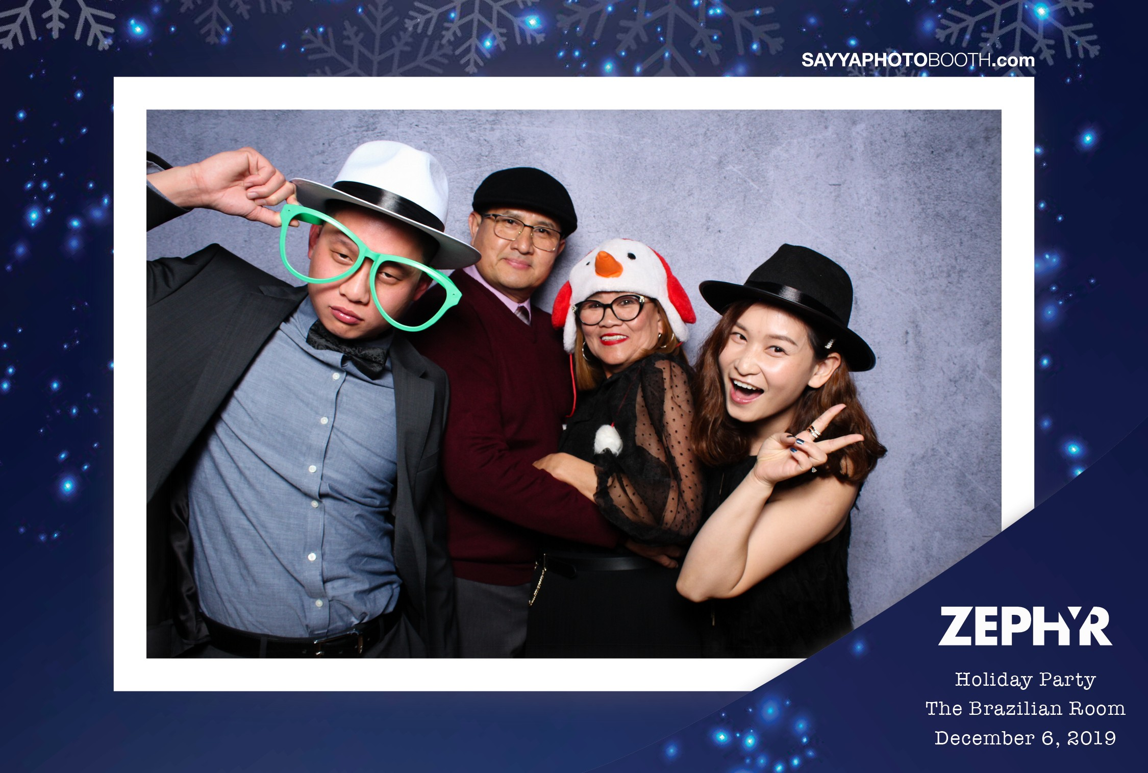 ZEPHYR Holiday Party