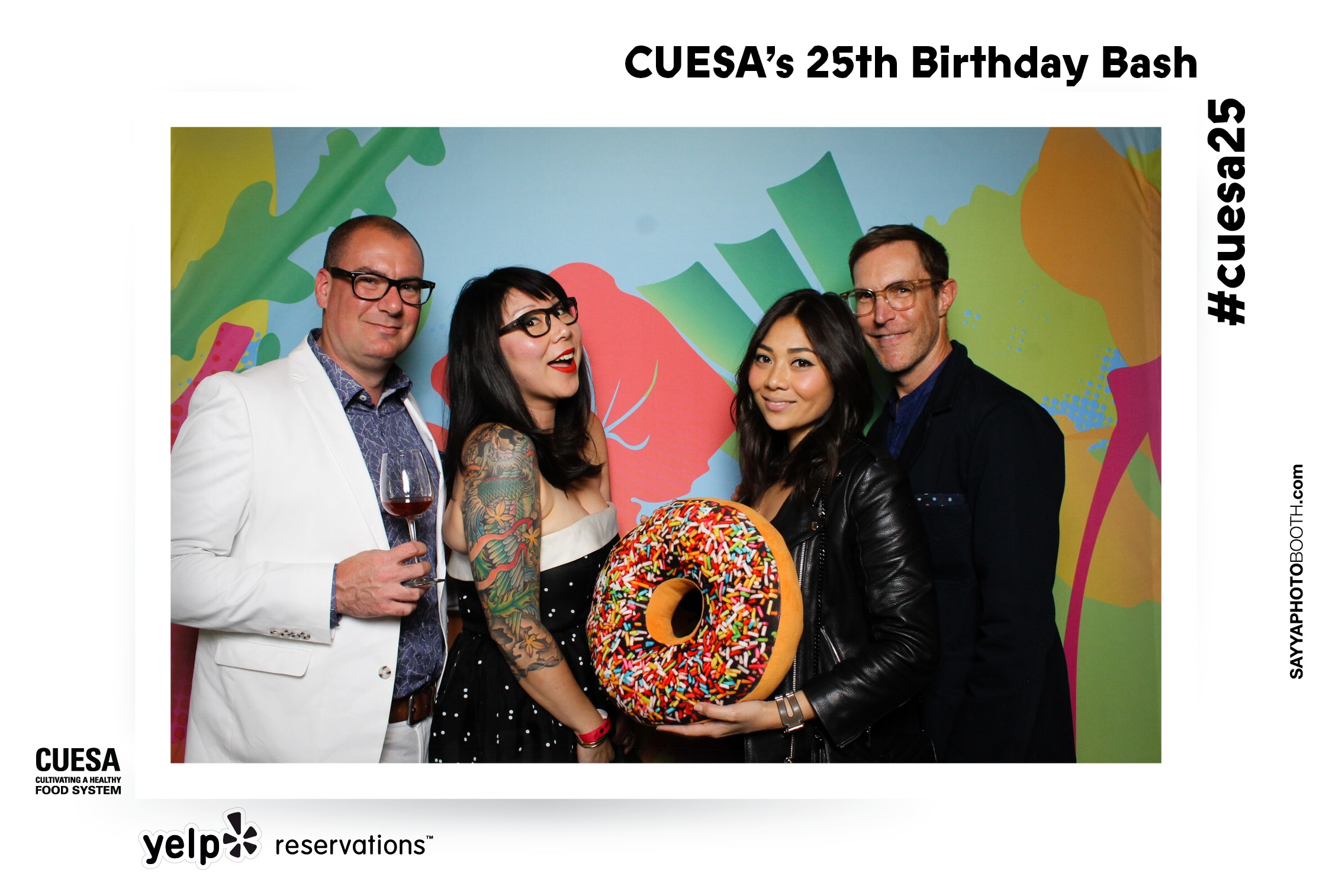 CUESA's 25th Birthday Bash