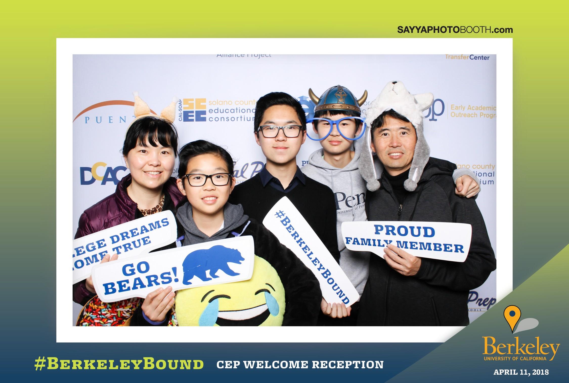 UC Berkeley's CEP Welcome Reception