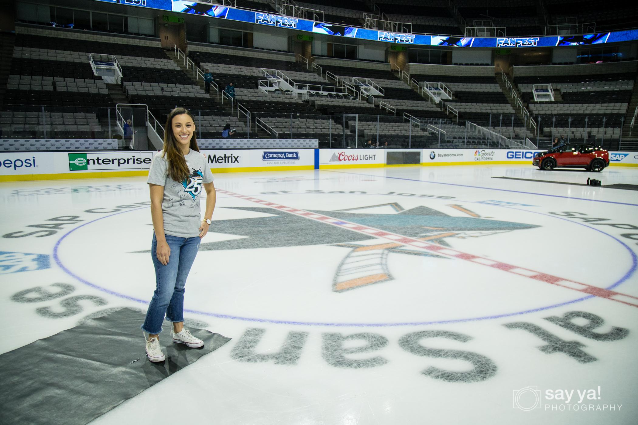 SJ Sharks Fan Fest - Center Ice