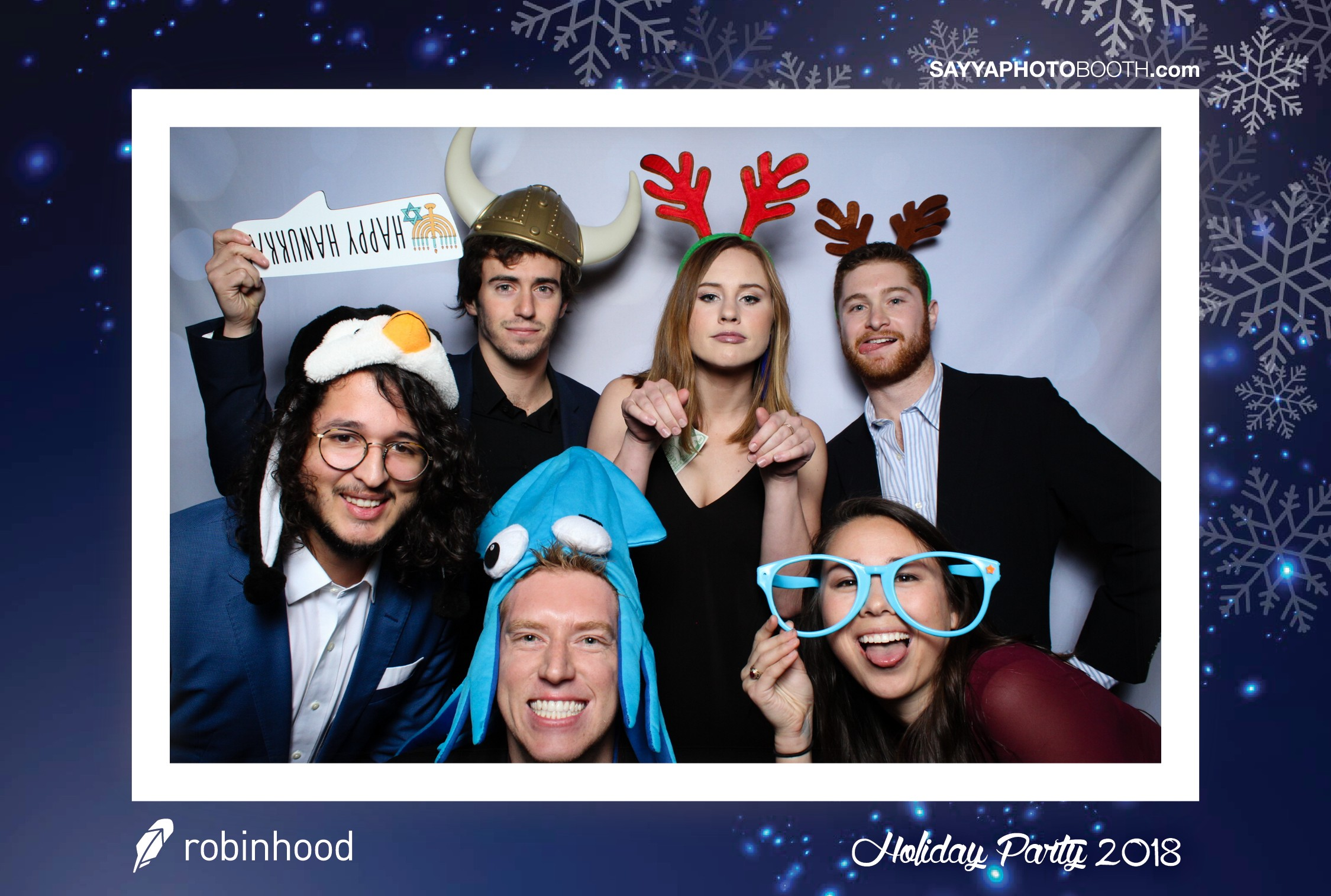 Robinhood Holiday Party 2018
